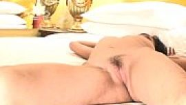 Asian Woman in hotel strips naked pussy Filipin...