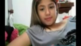 18 yo Chubby Asian Teen finger on cam - www.kan...